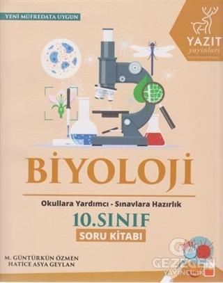 2019 10. Sınıf Biyoloji Soru Kitabı