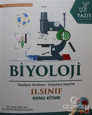 2019 11. Sınıf Biyoloji Konu Kitabı