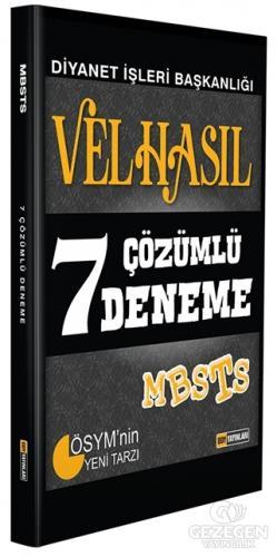 2019 MBSTS Velhasıl Tamamı Çözümlü 7 Deneme Sınavı
