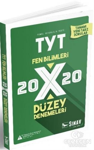 2019 Tyt Fen Bilimleri 20X20 Düzey Denemeleri