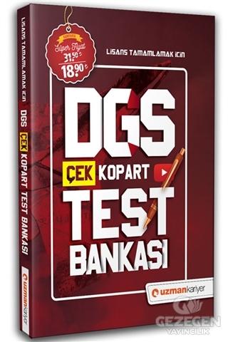 Uzman Kariyer 2020 DGS Stratejik Test Bankası Yaprak Test Video Çözümlü Uzman Kariyer Yayınları