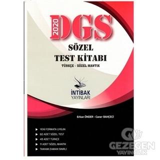 2020 DGS Sözel Test Kitabı Türkçe- Sözel Mantık