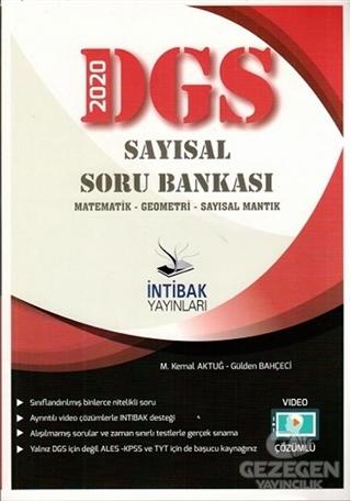 2020 DGS Video Çözümlü Sayısal Soru Bankası