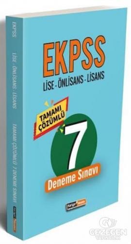 2020 EKPSS Lise-Önlisans-Lisans Tamamı Çözümlü 7 Deneme Sınavı