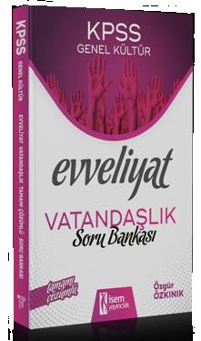 İsem 2020 KPSS Evveliyat Vatandaşlık Soru Bankası Çözümlü İsem Yayınları