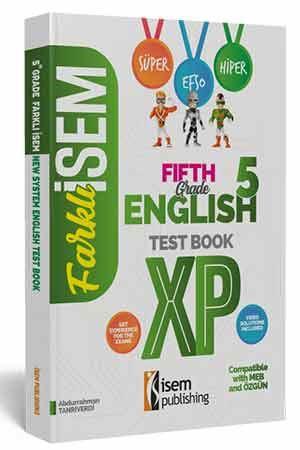 Farklı İsem 5. Sınıf İngilizce Soru Bankası İsem Yayıncılık