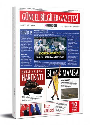 Paragon 2020 KPSS Güncel Bilgiler Gazetesi (10 Deneme İlaveli) Paragon Yayıncılık