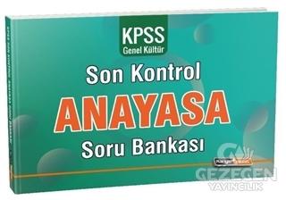 2020 KPSS Genel Kültür Anayasa Son Kontrol Soru Bankası