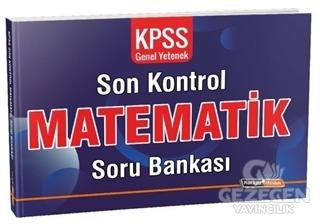 2020 KPSS Genel Yetenek Matematik Son Kontrol Soru Bankası