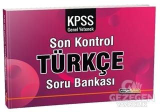 2020 KPSS Genel Yetenek Türkçe Son Kontrol Soru Bankası