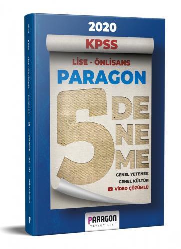 Paragon 2020 KPSS Lise Ön Lisans Genel Yetenek Genel Kültür 5 Deneme Video Çözümlü Paragon Yayıncılık
