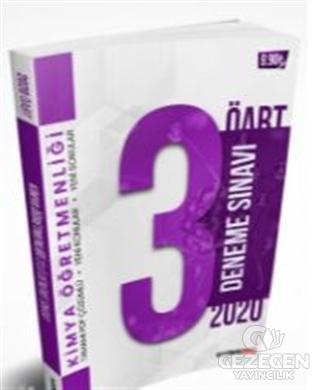 2020 KPSS ÖABT Kimya Öğretmenliği PDF Çözümlü 3 lü Deneme Seti