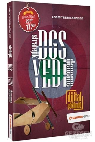 Uzman Kariyer 2020 DGS Stratejik 7 Deneme Dijital Çözümlü Uzman Kariyer Yayınları