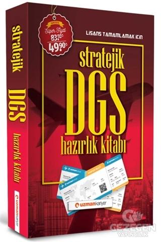 Uzman Kariyer 2020 DGS Stratejik Konu Anlatımlı Hazırlık Kitabı Uzman Kariyer Yayınları