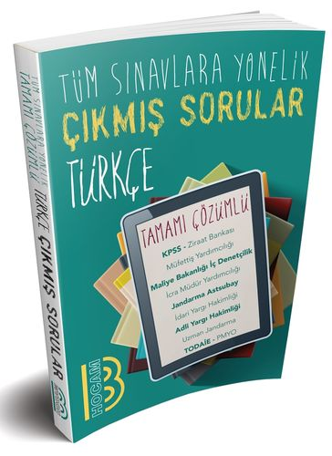 2020 Tüm Sınavlara Yönelik Türkçe Konularına Göre Çıkmış Tamamı Çözümlü Sorular   Benim Hocam Yayınları