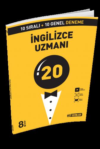 8. SINIF Uzman Deneme  İngilizce 20