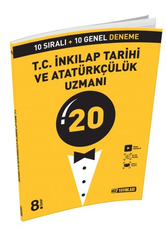 8. SINIF Uzman Deneme  T.C. İnkılap Tarihi ve Atatürkçülük 20