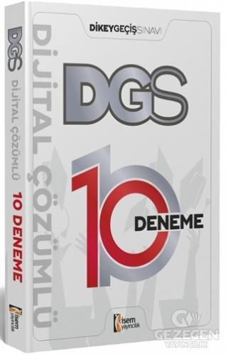 İsem 2021 DGS Dijital Çözümlü 10 Deneme Sınavı