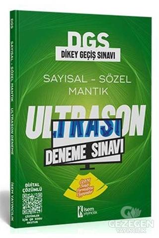 İsem 2021 DGS ÖSYM Tarzı UltraSon Deneme Sınavı