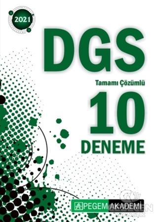 2021 DGS Tamamı Çözümlü 10 Deneme