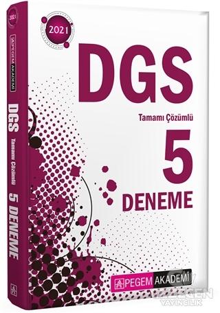 2021 DGS Tamamı Çözümlü 5 Deneme