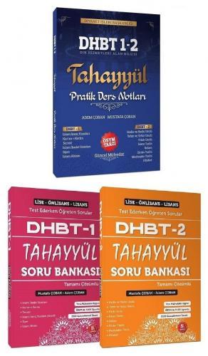 2021 DHBT 1-2 Ders Notları+Soru Bankası Set - Mustafa Çoban, Adem Çoban Tahayyül Yayınları *