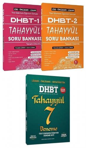 2021 DHBT 1-2 Soru Bankası + 7 Deneme Set - Mustafa Çoban, Adem Çoban Tahayyül Yayınları *