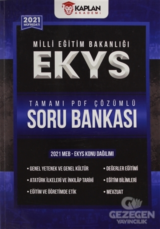 2021 EKYS Tamamı PDF Çözümlü Soru Bankası