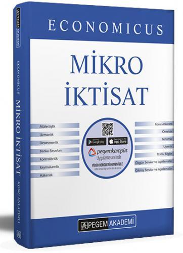2021  KPSS A Grubu Economicus Mikro İktisat Konu Anlatımı  Pegem Akademi Yayıncılık