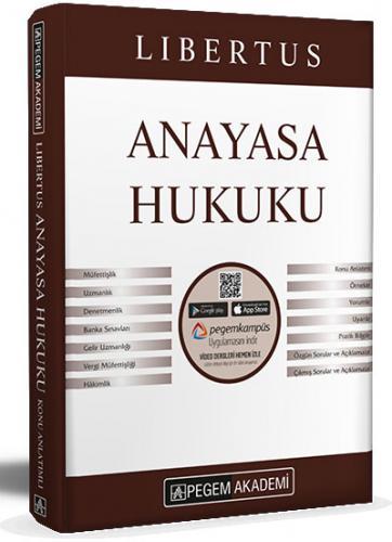2021 KPSS A Grubu Libertus Anayasa Hukuku Video Destekli Konu Anlatımı  Pegem Akademi Yayıncılık