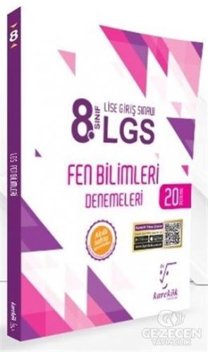 2021 LGS 8. Sınıf Fen Bilimleri 20 Deneme Karekök Yayıncılık | KitapGe