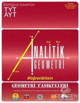 TYT-AYT Geometri Fasikülleri-Analitik Geometri | Tonguç Akademi