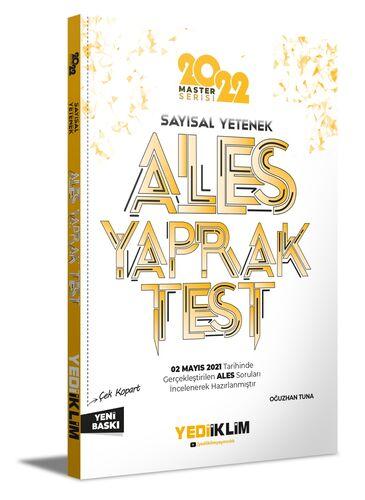 2022 Ales Sayısal Yetenek Çek Kopart Yaprak Test | Yediiklim Yayınları