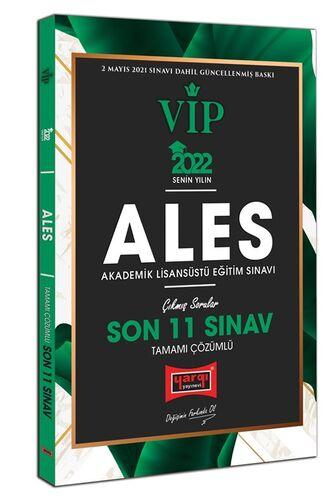 2022 ALES VIP Tamamı Çözümlü Son 11 Sınav Çıkmış Sorular   Yargı Yayınları