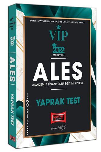 2022 ALES VIP Yaprak Test