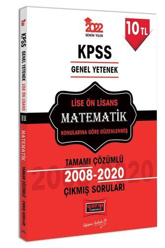2022 KPSS GY Lise Ön Lisans Matematik Tamamı Çözümlü Çıkmış Sorular | Yargı Yayınları