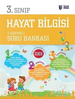 3.Sınıf Hayat Bilgisi 3 Aşamalı Soru Bankası