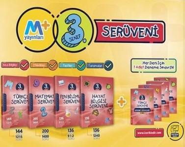 Martı Yayınları 3. Sınıf Matematik Serüveni + 7 Li Deneme