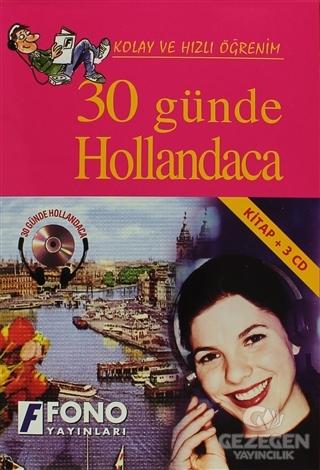 30 Günde Hollandaca (kitap + 3 CD)