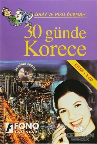 30 Günde Korece (kitap + 3 CD)