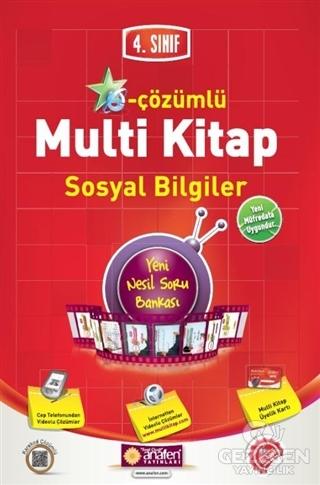 4. Sınıf E-Çözümlü Multi Kitap Sosyal Bilgiler