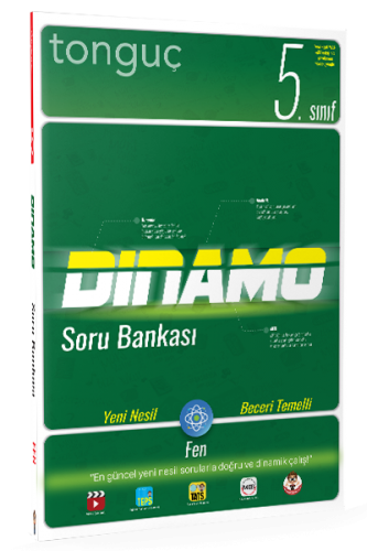 5. Sınıf Fen Bilimleri Dinamo Soru Bankası Kolektif Tonguç Akademi