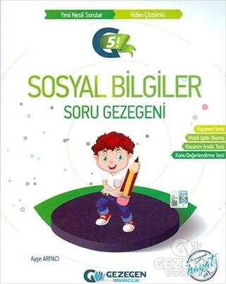 5. Sınıf Sosyal Bilgiler Soru Gezegeni Gezegen Yayıncılık | KitapGezeg
