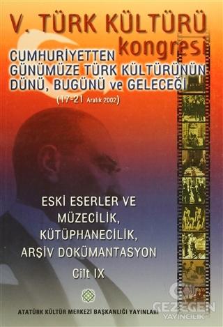 5. Türk Kültürü Kongresi Cilt : 9