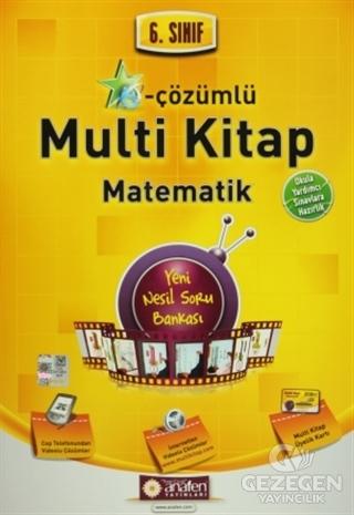 6. Sınıf E-Çözümlü Multi Kitap Matematik Okula Yardımcı - Sınavlara Hazırlık