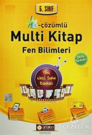 6. Sınıf Fen ve Teknoloji e-Çözümlü Multi Kitap