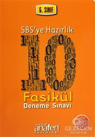 6. Sınıf SBS'ye Hazırlık 10 Fasikül Deneme Sınavı