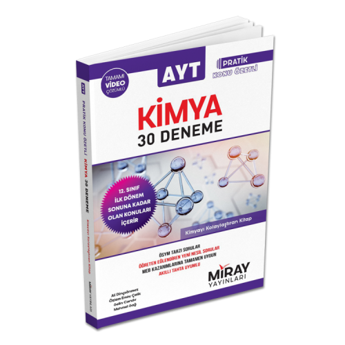 Aydın Miray Ayt 30 Kimya Deneme (2020 Ayt)