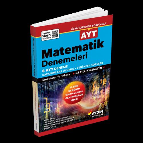 Aydın Ayt Matematik 8 Deneme (2020 Ayt)