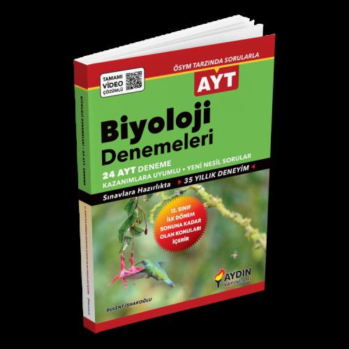 Aydın Ayt Biyoloji 24 Deneme (2020 Ayt)